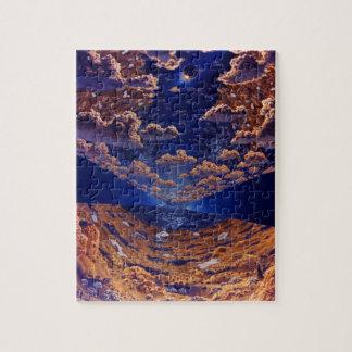 Puzzle Illustration de colonie de l'espace