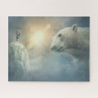 Puzzle Imaginaire d'ours blanc