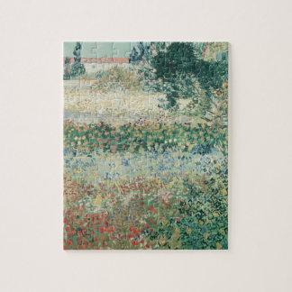 Puzzle Jardin de Vincent van Gogh | en fleur, Arles, 1888