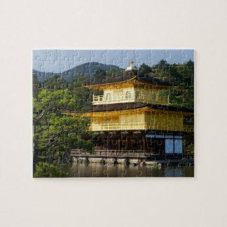 Puzzle Jardin japonais, temple de Kinkaku-JI, Kyoto,