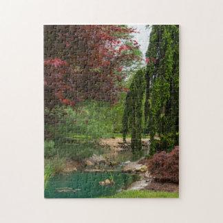 Puzzle Jardin paisible