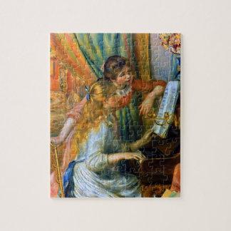 Puzzle Jeunes filles au piano par Pierre Renoir