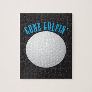 Puzzle Jouer au golf allé