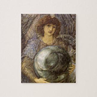 Puzzle Jours de la création, premier jour par Burne Jones
