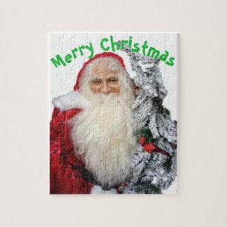 Puzzle Joyeux Noël le père noël