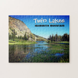 Puzzle jumeau de lacs mammoth Mountain