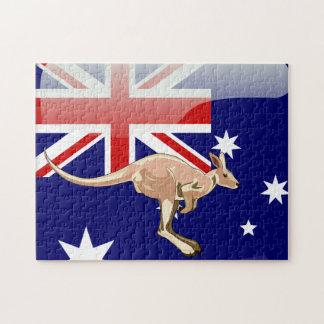 Puzzle Kangourou australien