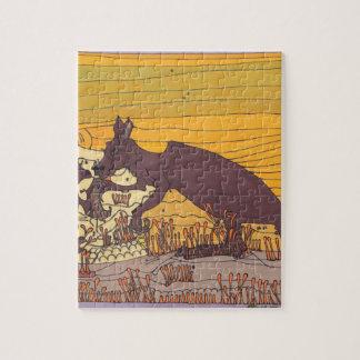 Puzzle Kangourous