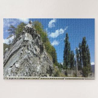 Puzzle La falaise et le ciel bleu