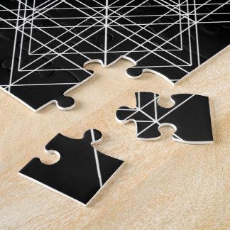 Puzzle La géométrie sacrée de temple en cristal
