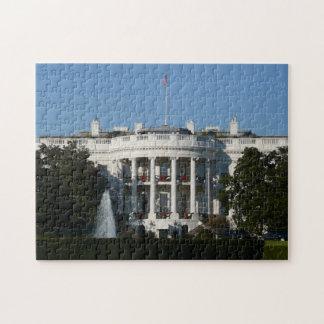 Puzzle La Maison Blanche de Noël pour le Washington DC de