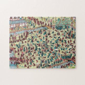 Puzzle Là où est le problème de Waldo | au vieux Japon