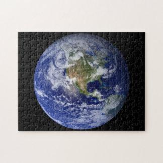 Puzzle La terre bleue de planète