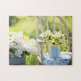 Puzzle La vie rustique florale d'été toujours