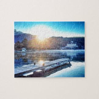 Puzzle Lac Annecy, Menthon St Bernard - Haute-Savoie