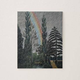 Puzzle Lac Daumesnil par Henri Rousseau, beaux-arts