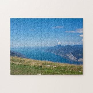 Puzzle lac de Garde