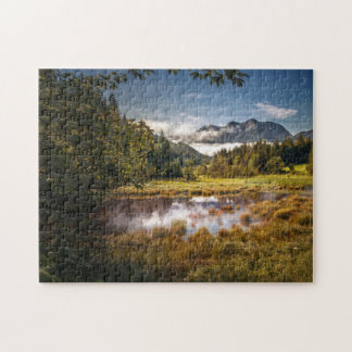Puzzle Lac mountain