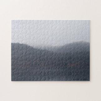 Puzzle Lac Randor en brouillard