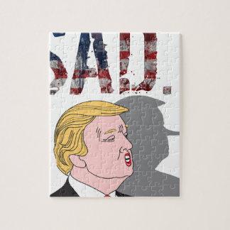 Puzzle L'anti Président sarcastique drôle Donald Trump