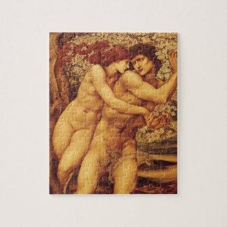 Puzzle L'arbre de la rémission par Burne Jones