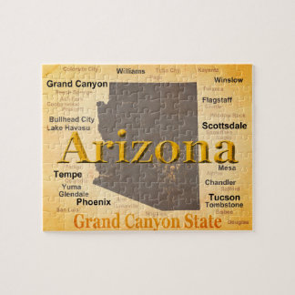 Puzzle L'Arizona a vieilli la carte