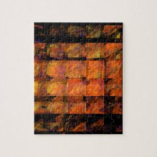 Puzzle L'art abstrait de mur