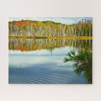 Puzzle L'automne supérieur de péninsule colore la