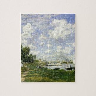 Puzzle Le bassin à Argenteuil - Claude Monet