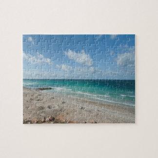 Puzzle Le golfe d'Aden, plage, île d'île de Socotra,