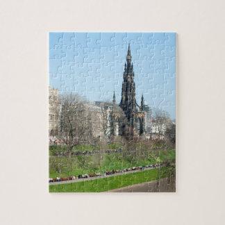 Puzzle Le hub, Edimbourg, Ecosse