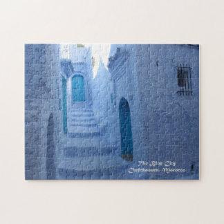 Puzzle Le Maroc, Chefchaouen, la ville bleue