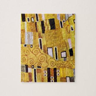 Puzzle Le motif de baiser par Gustav Klimt, art Nouveau