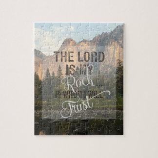 Puzzle Le seigneur est ma roche - 18:2 de picoseconde