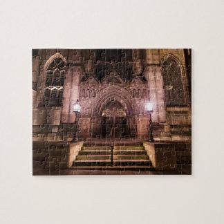 Puzzle L'église épiscopale de St John la nuit