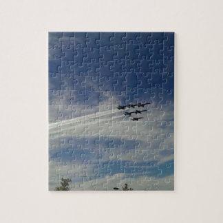 Puzzle Les anges bleus