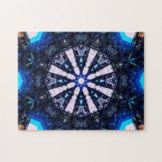 Puzzle L'étoile forme le mandala
