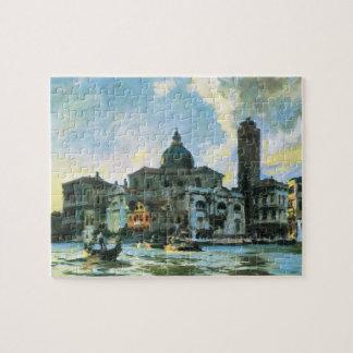 Puzzle Lèvres de Palazzo, Venise par Sargent, beaux-arts