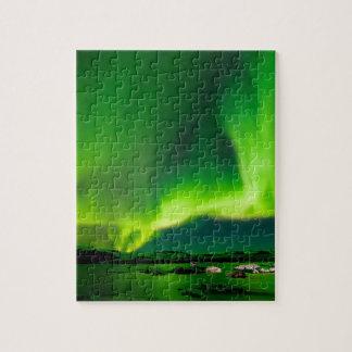 Puzzle Lumières du nord de l'Islande