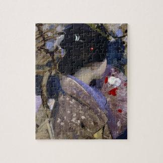Puzzle Madame japonaise avec la fan par George Henry
