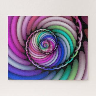 Puzzle Magasin en spirale de sucrerie de fractale