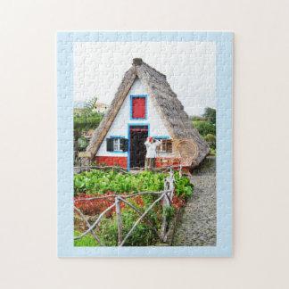 Puzzle Maison traditionnelle dans Santana