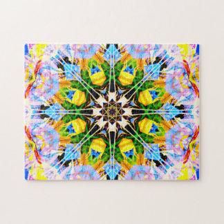 Puzzle Mandala abstrait de relaxation de la réalité |