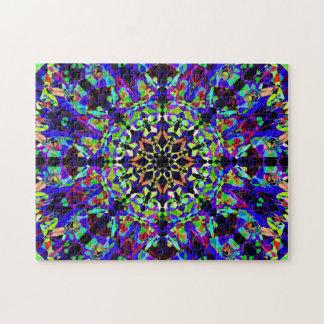 Puzzle Mandala coloré | de mosaïque paisible