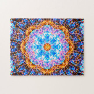 Puzzle Mandala coloré | d'énergie détendant