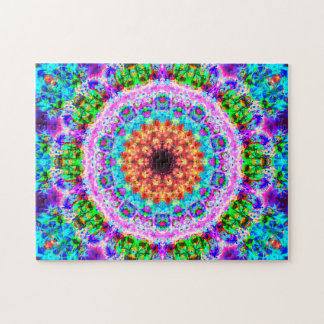 Puzzle Mandala coloré | détendant