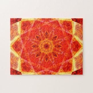 Puzzle Mandala de détente chaud des formes | d'étoile des