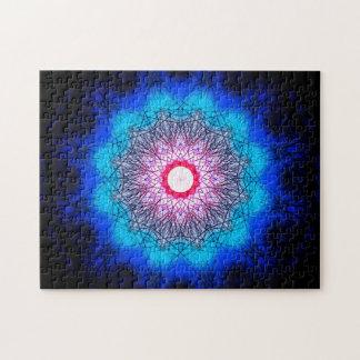 Puzzle Mandala de flocon de neige de fractale