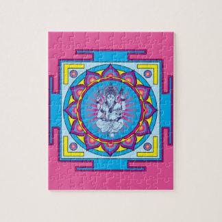 Puzzle Mandala de Ganesha