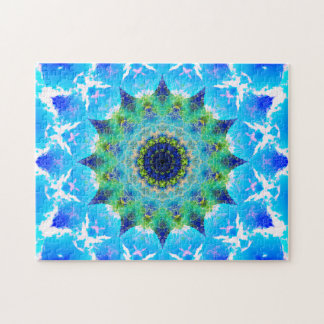 Puzzle Mandala de ondulation d'étoile d'océan